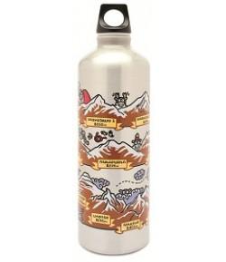 Aluminium Futura bottle 0,75 L. Himalaya