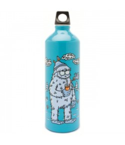Aluminium Futura bottle 1 L. Blue Yeti