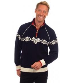 DALE SOCHI pA?nsky sveter z Merino vlny, modrA? C