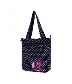 Black flamenca bag