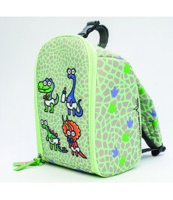 Insulated baby/kids backpack dinos
