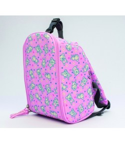 Insulated baby/kids backpack teddys pink